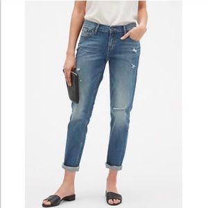 Banana Republic | Distressed Girlfriend Jeans